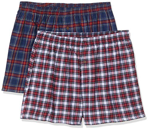Living Crafts Boxer-Shorts, 2er-Pack XL, Tartan