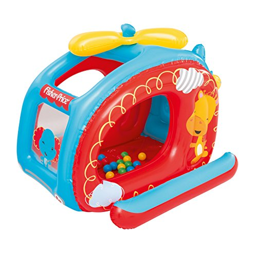 Fisher-Price Helicopter Inflatable Ball Pit