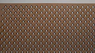 LaserKris - Mueble de Pared para radiador (Tablero DM Perforado, 4 x 2), PP1