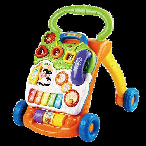 Les Enfants Multi-Fonctions de Chariot de Marcheur de bébé apprennent la Marche Walker Joue 6-18 Mois FANJIANI (Couleur : B)