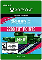 FIFA 19: ULTIMATE TEAM FIFA POINTS 2200 - Xbox One [Digital Code]