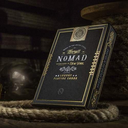SOLOMAGIA Mazzo di Carte Nomad by Theory11 - Mazzi Theory11 - Carte da Gioco - Giochi di Prestigio e Magia