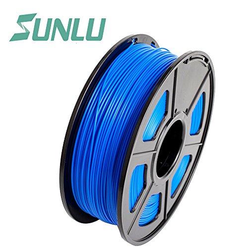 SUNLU 3D Pen Filament Refills PLA 1.75 mm, Accuracy +/- 0.02mm, Blue