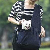 ペット用スリング ドッグ キャットスリング 抱っこ紐 キャリーバッグ ペットバッグ デニムブルー