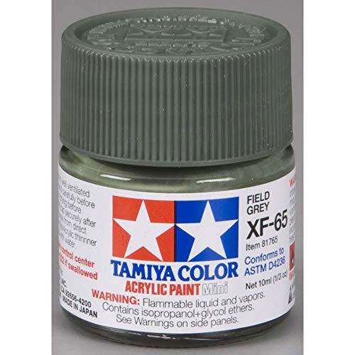 Tamiya - Peinture Acrylique 10ml Gris Champ XF65
