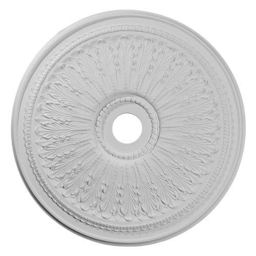 Ekena Millwork CM29OA 29 1/8-Inch OD x 3 5/8-Inch ID x 1-Inch P Oakleaf Ceiling Medallion by Ekena Millwork