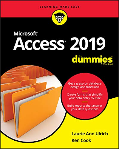 Access 2019 For Dummies (English Edition)