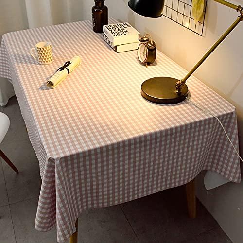 XXDD Mantel de decoración de Boda, Mantel antiincrustante, Mantel de Picnic, Mantel de plástico, decoración A9, 140x160cm