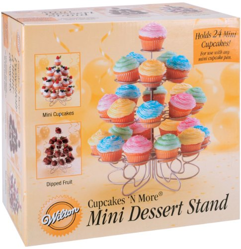 WILTON(ウィルトン)カップケーキモアスタンド ミニ Cupcakes N More 24 Count Mini Dessert Stand