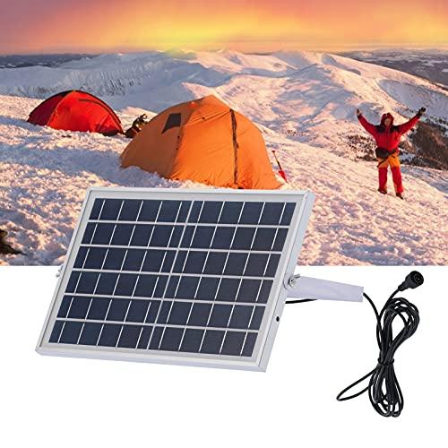 Luroze Panel Solar, módulo de Panel Solar ecológico y Que Ahorra energía para Senderismo para Ciclismo al Aire Libre para portátiles