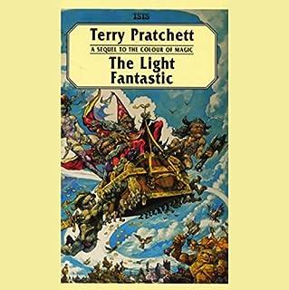 The Light Fantastic audiobook cover art