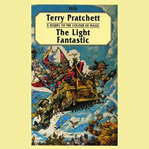 The Light Fantastic audiobook cover art