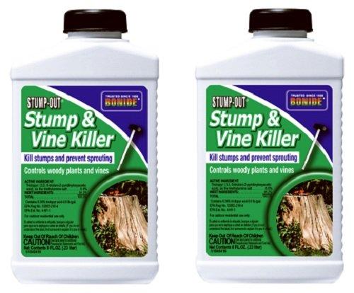 Bonide Vine & Stump Killer With Applicator Concentrate 8 Oz, 2 Pack