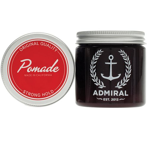 Admiral Classic Pomade (Strong Hold/Medium Shine) 4oz - Paraben Free - Professional Grade...