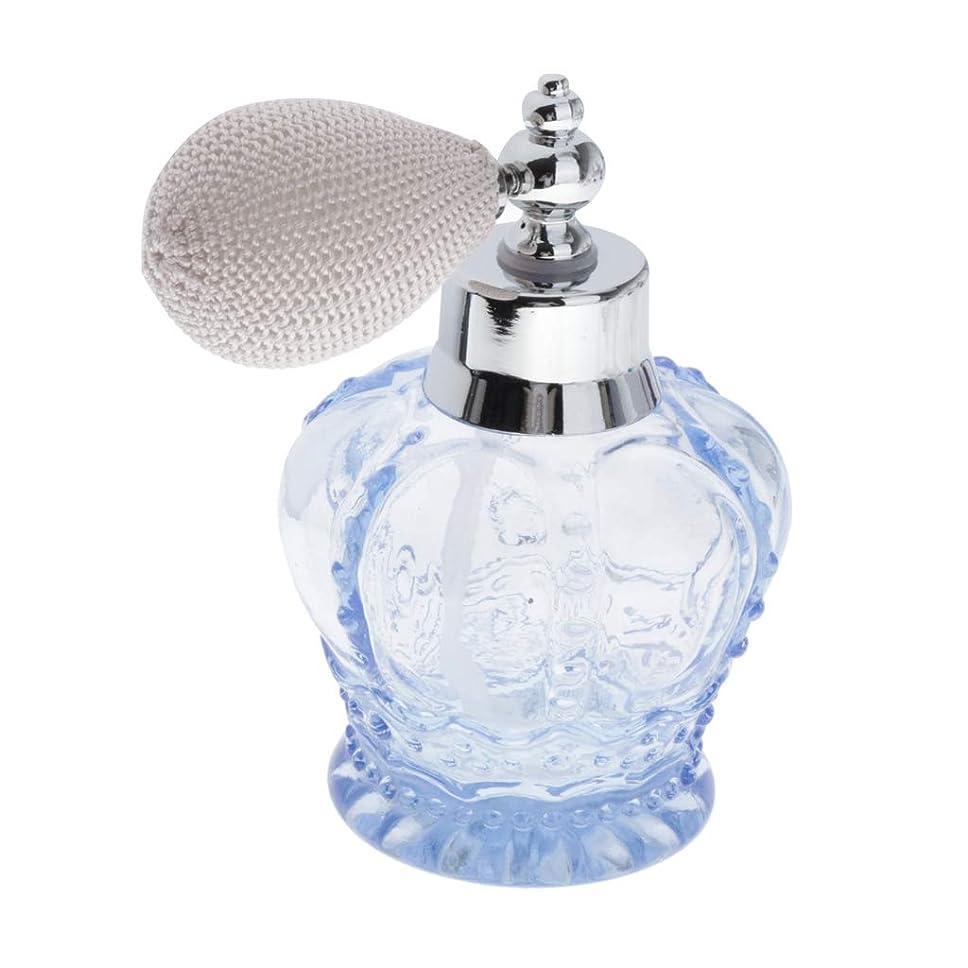 恩赦委員会空白dailymall 100ML ガラスボトル 香水瓶 フレグランスボトル 詰替用ボトル 小分けボトル ホーム飾り おしゃれ - Bグレー