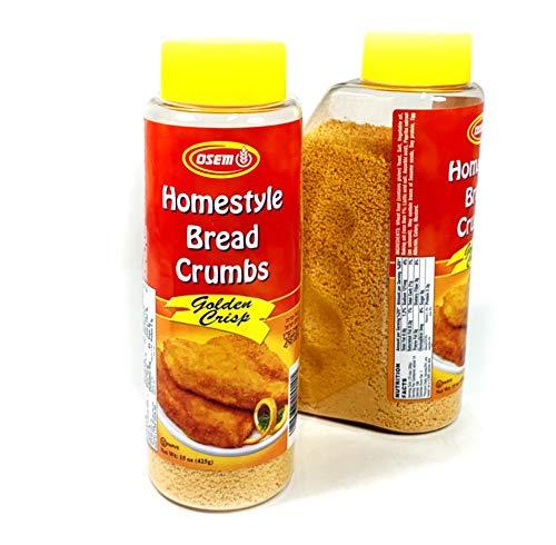 Homestyle Bread Crumbs Golden Crisp (pack of 2) 425 g | 15 oz