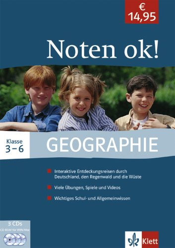 Noten ok! - Geographie 3.-6. Klasse [import allemand]