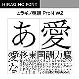 OpenType ヒラギノ明朝 ProN W2 [ダウンロード]