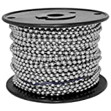 Ball Chain Number 10 Spool Stainless Steel 100 Feet...