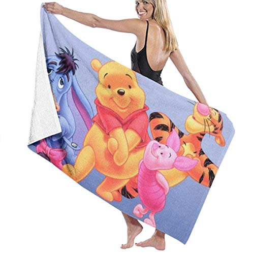 AGHRFH Winnie The Pooh - Juego de Toallas de baño, Accesorios para Piscina