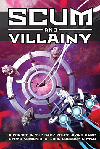 Asmodee EHP0040 Scum and Villainy RPG (Klades in The Dark System), Mehrfarbig