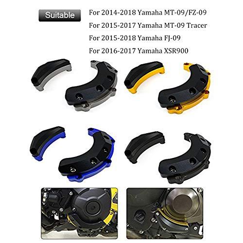 Motorrad Seiten Tankpad f/ür Yamaha MT-09 FZ-09 14-17 FJ-09 MT-09 Tracer 15-17