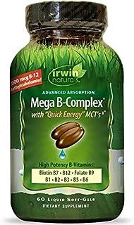 Mega B Complex w/ Quick Energy MCT's 60