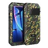 Beeasy Coque iPhone XR Antichoc,Étanche Protecteur d'Écran Intégré Qualité Militaire Robuste Résistant Metal IP68...