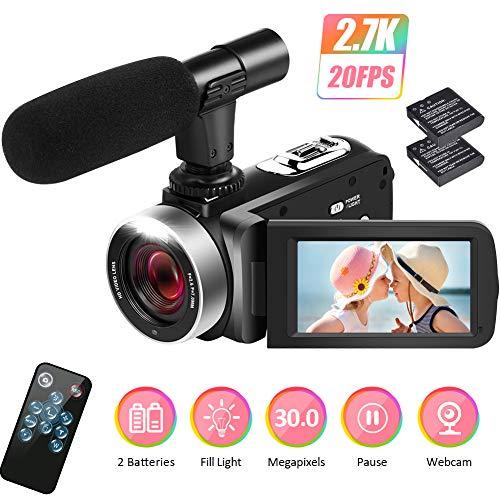 Camcorder Videokamera 2.7K Camco...