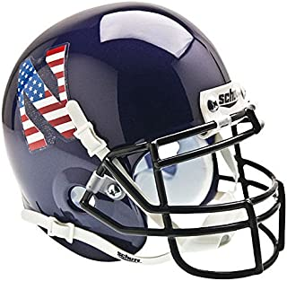 Schutt Northwestern Wildcats Mini Authentic Helmet - Flag N - NCAA Licensed - Northwestern Wildcats Collectibles