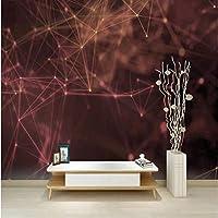 写真の壁紙3D立体空間カスタム大規模な壁紙の壁紙 星空リビングルーム現代リビングルームのテレビの背景寝室家の装飾壁画 -450X300cm(177 * 118インチ)