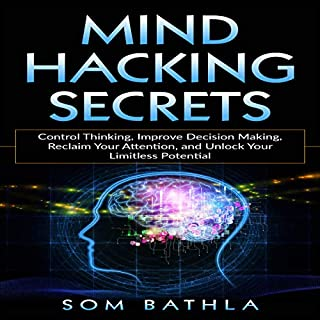 Mind Hacking Secrets: Control Thinking, Improve Decision Making, Reclaim Your Attention, and Unlock Your Limitless Potential cover art