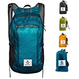 4Monster Hiking Daypack,Water Resistant Lightweight Packable Backpack for Travel Camping O...