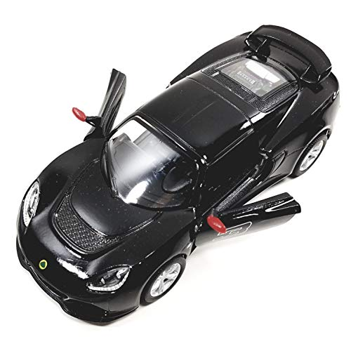 Kinsmart Lotus Exige S 2012 Jet Black 1/32 Scale Hard Top Diecast Car