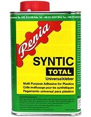 Renia Syntic Total kunststoflijm, 850 g blik met geïntegreerde kwast (alleen voor commercieel gebruik)