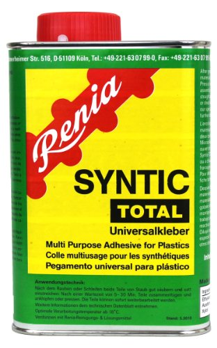 Renia SYNTIC TOTAL Kunststoffkleber - 850g Dose mit integriertem Pinsel (nur für den gewerblichen Gebrauch)