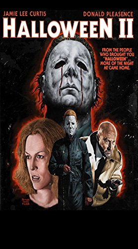 Da Bang Halloween II Movie Poster Rare Horror Michael Myers 24x36inch