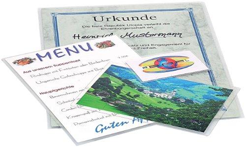 General Office Kaltlaminierfolien: Kalt-Laminiertaschen für 20 Blätter DIN A4 (Sparpack) (Hochglanz Laminierfolie)
