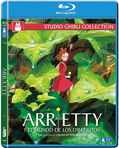 Arrietty Y El Mundo De Los Diminutos Blu-Ray [Blu-ray]