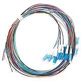 Cable flexible de fibra óptica de 12 hilos, cable flexible de fibra óptica Plug and Play, sistema de comunicación de fibra óptica Red Catv para instrumentos Lan de fibra óptica