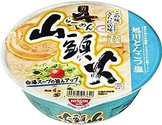 Nissin Instant Cup Ramen Santouka Ramen with Asahikawa Pork Bone Based Soup(Set of 4)