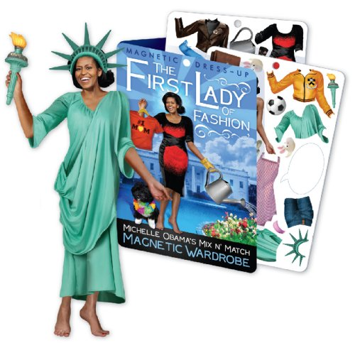 First Lady of Fashion - Michelle Obama Magnetic Dress Up Doll Play Set