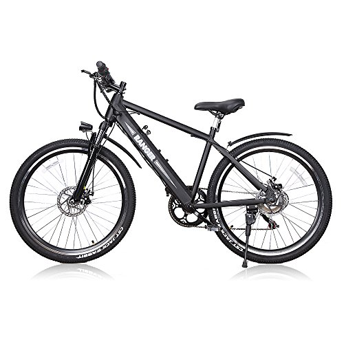 BRIGHT GG NAKTO 26' Electric Bike for Adults with 300W Motor and 36V 10Ah Built-in Lithium Battery,Mountain/Beach/City Electric Bicycle