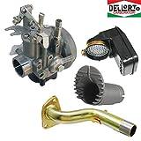 Dell'Orto - Carburador Dell'Orto SHBC 19 - Incluye boquilla