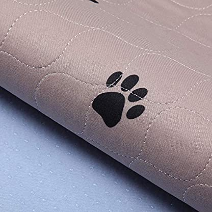 """SincoPet Reusable Pee Pad + Free Puppy Grooming Gloves/Quilted, Fast Absorbing Machine Washable Dog Whelping Pad/Waterproof Puppy Training Pad 2Pack(31""""X36"""")/Housebreaking Absorption Pads 2"""