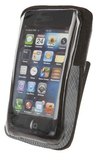Cicli Bonin Unisex's I-Phone 4/5 voor stuurtassen, zwart, één maat