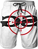 Belongtu Mens Sniper Gang Gang Target Beach Shorts Swimming Trunks Cargo Shorts...