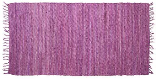Ghorbani Tapis tissé Violet 160 x 080 cm