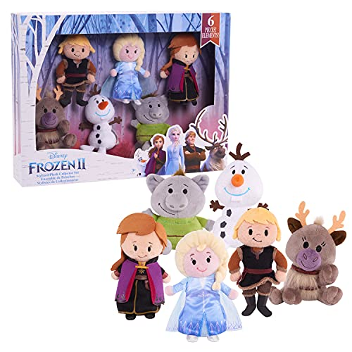 Disney Frozen 2 Stylized Plush Collector Set, by Just Play