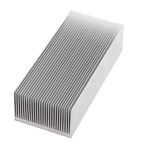 uxcell Aluminum Heat Radiator Heatsink Cooling Fin 150x69x37mm Silver Tone